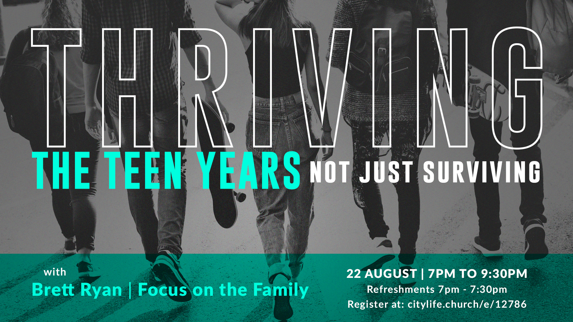 Thriving The Teen Years Not Just Surviving Forum